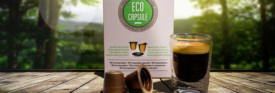 capsules de cafe bio