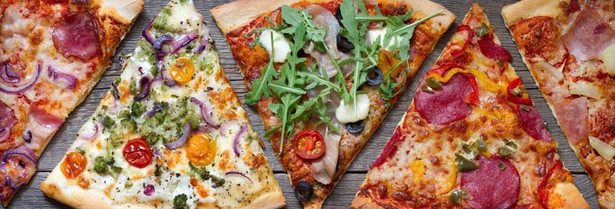 Amateurs de pizzas italiennes