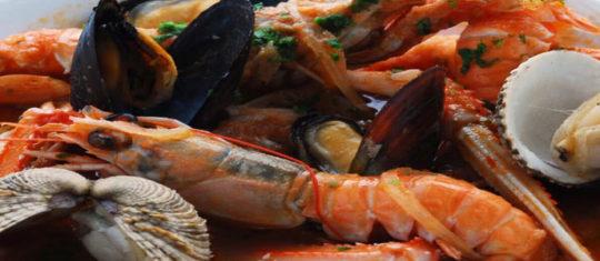poissons et ses fruits de mer