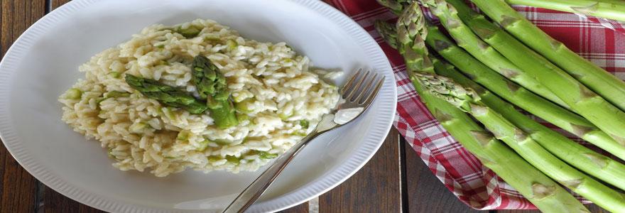 risotto aux asperges