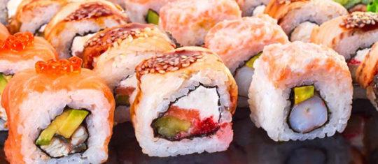 Commander du sushi en ligne