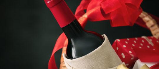 Paniers garnis vins