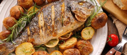 plats de poissons