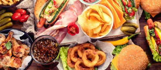nourritures américaines