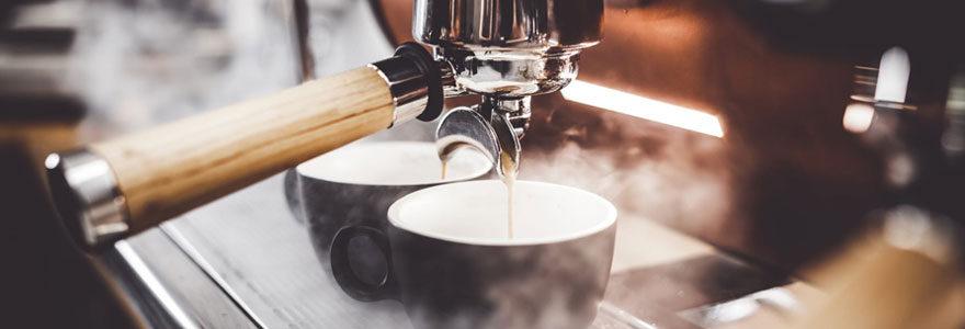 Une cafetière Senseo