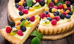 Préparer une tarte aux fruit